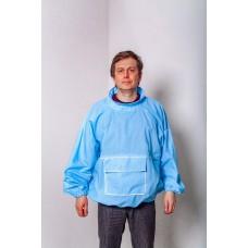 Одежда пчеловода куртка голубая